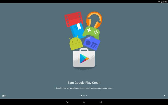 Google Opinion Rewards: Responda enquetes e ganhe créditos