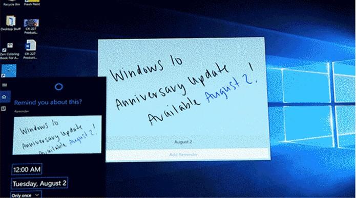 Anniversary Update do Windows 10 chega em 02 de agosto